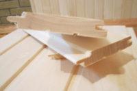 Вагонка деревянная - размеры и современные стандарты
