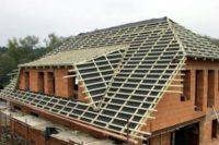 Устройство обрешетки крыши и подробный монтаж основания